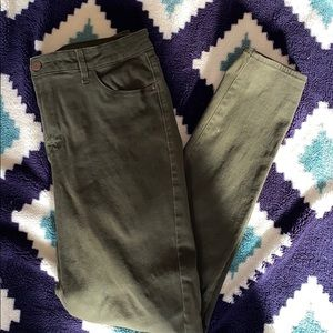 Old Navy Green Jeans